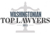 Washingtonian Top Lawyer 2011