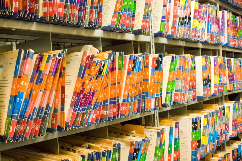 difference between manual and electronic filing system
